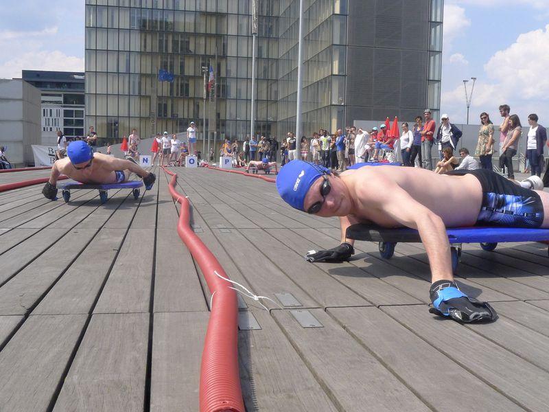 Fédération de natation sur bois