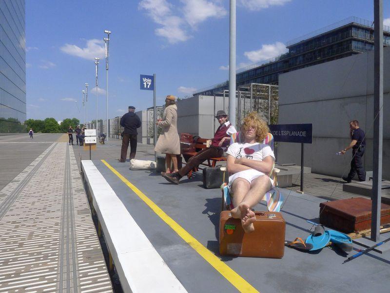 Romans de gare